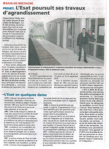Article l'éclaireur - 01-02-2019